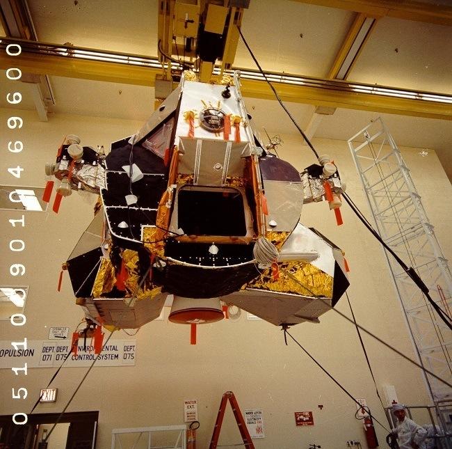 Apollo 11 photos Lunar module 5