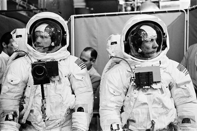 Apollo 11 photos Neil and Buzz
