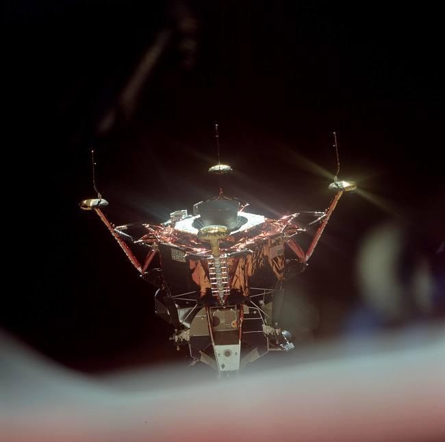 Apollo 11 photos lunar module