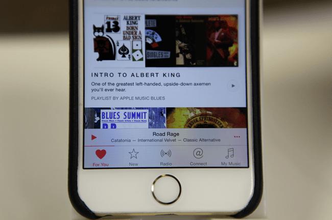 Apple Music UI