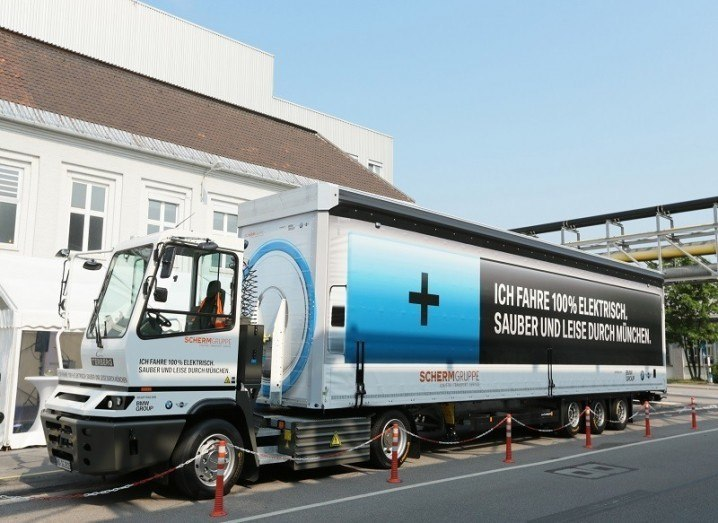 BMW electric truck