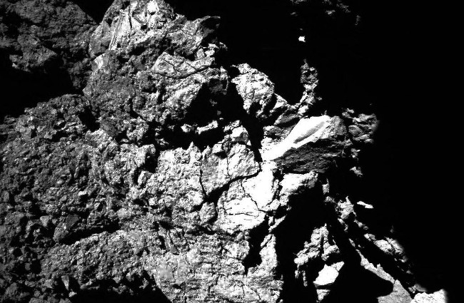 Philae's descent