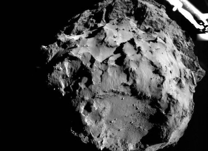 Comet 67P from 1km