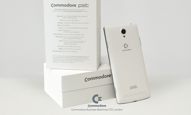 Commodore phone