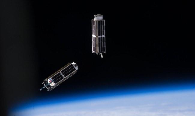 CubeSat Strange spacecraft