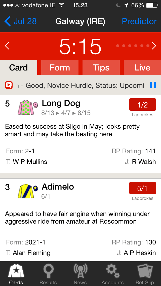 Galway-Races-App Racing Post