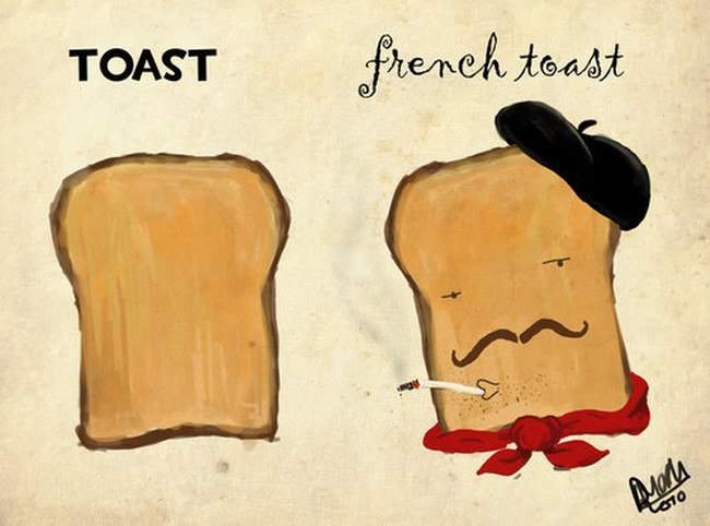 French Toast - Bastille Day