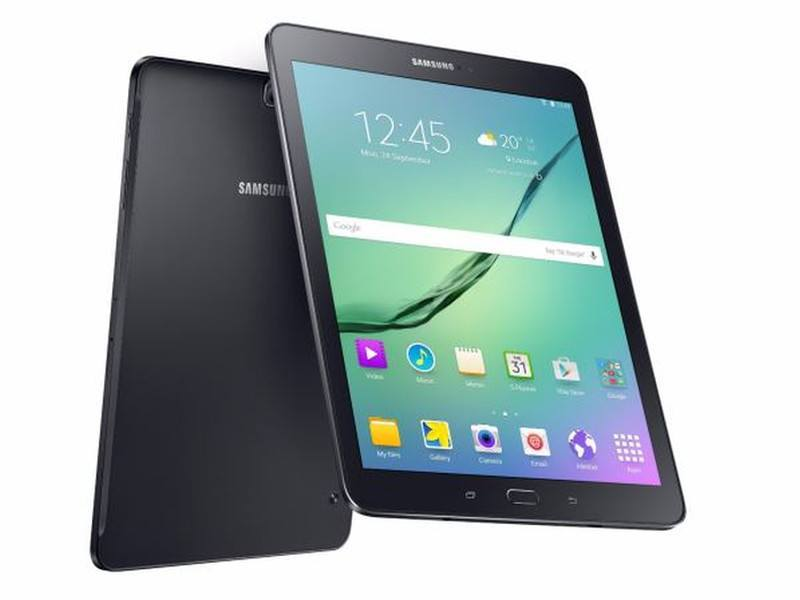 Samsung's new Galaxy Tab S2, thinner than the iPad