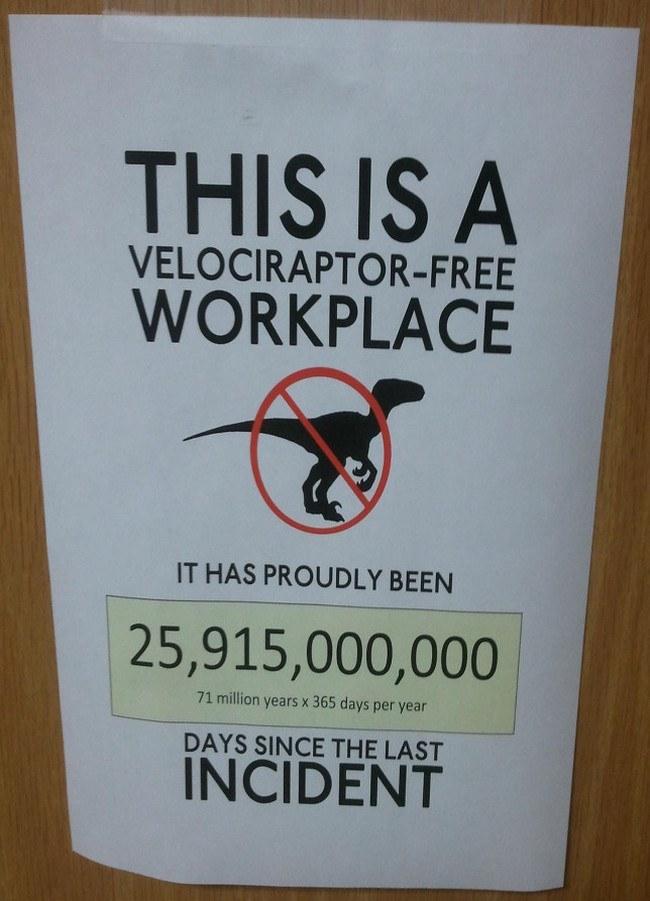 Geology memes - Velociraptor-free