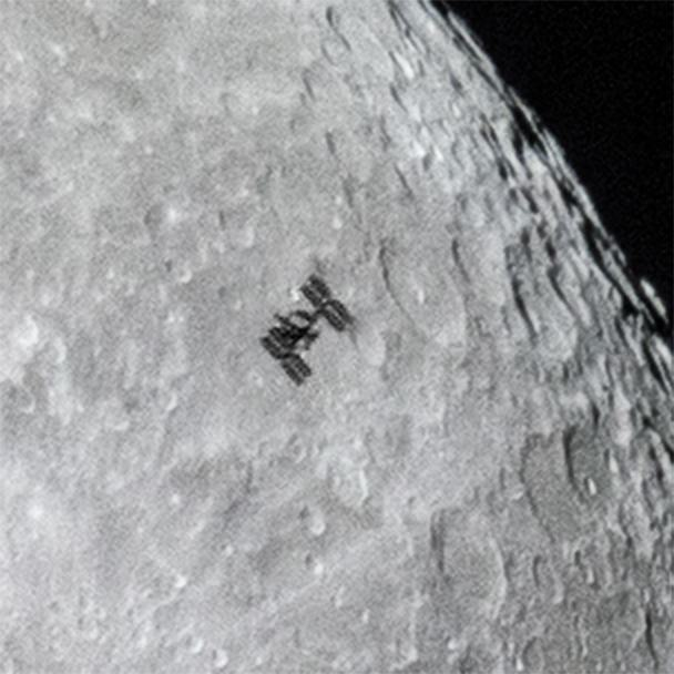 ISS as seen from earth, via Dylan O'Donnell | ISS from Earth
