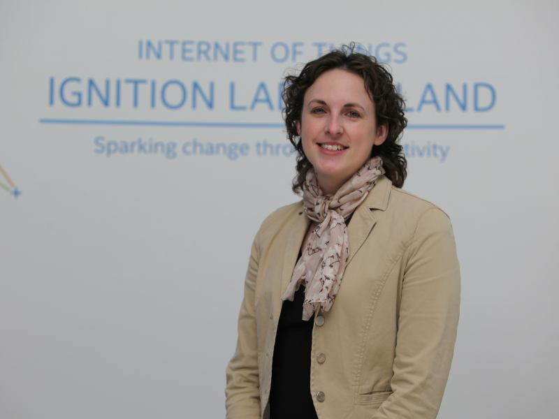 Internet of things will power big data, says Intel's Louise Summerton (video)