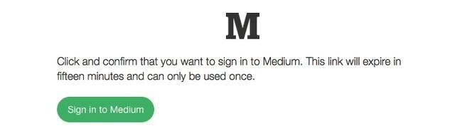 Medium-login