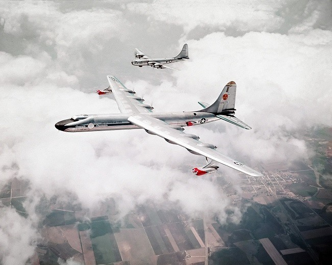 The Convair NB-36H nuclear aircraft