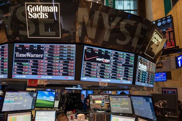 NYSE stock exchange floor