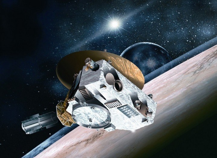 New Horizons illustration