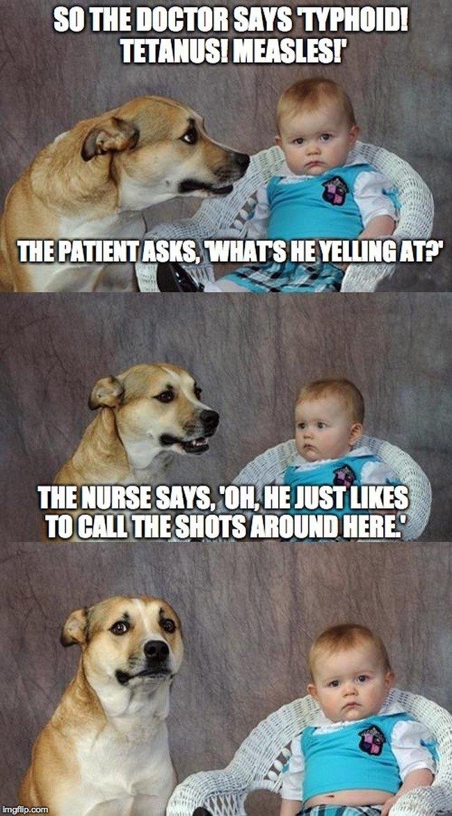 Nurse memes doctor calls the shots