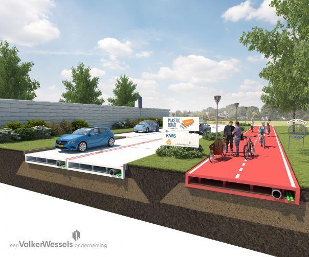 Plastic Road concept image