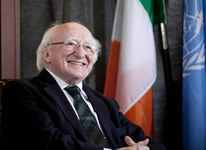 Michael D Higgins, President of Ireland - Climate Change