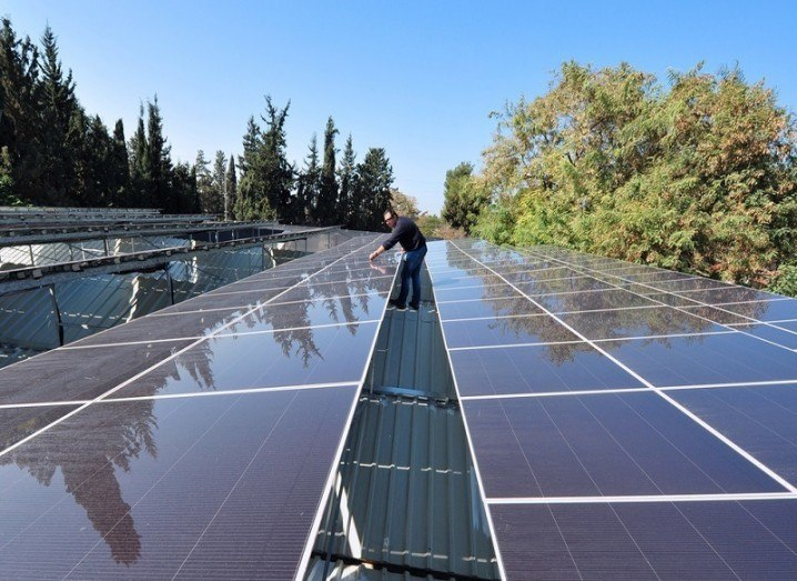 Renewables energy report 2015 solar panels