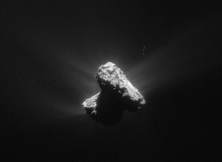 Comet 67p 3 July