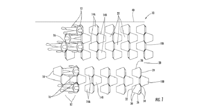 Zodiac Seats design patent image
