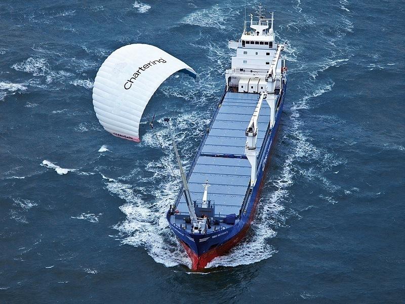 New Irish-developed smart kite will power ships with renewable energy