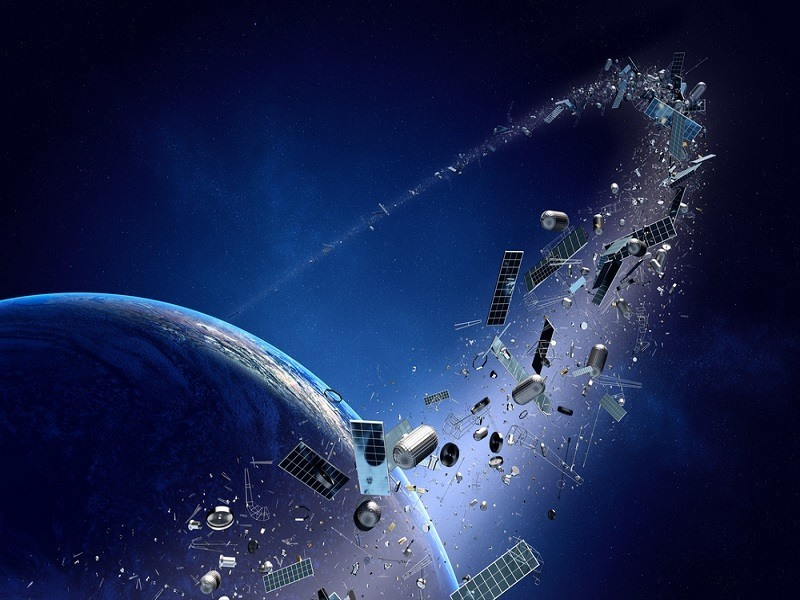 Watch space junk fly around the Earth in real-time