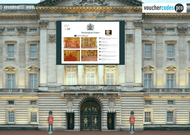 Things to see in England - Buckingham Palace