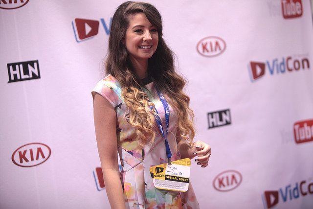 YouTube celebrity, Zoe 'Zoella' Sugg