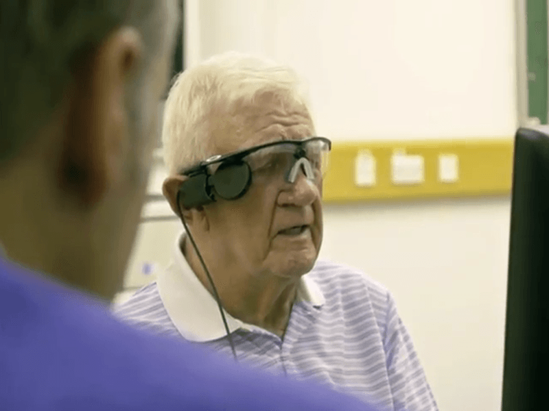 Bionic eye restores blind man's sight