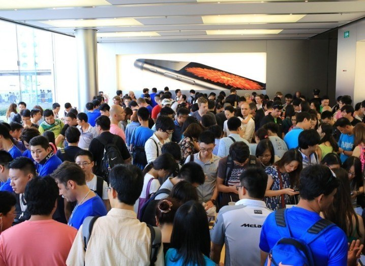 Apple Store Hong Kong image via Shutterstock