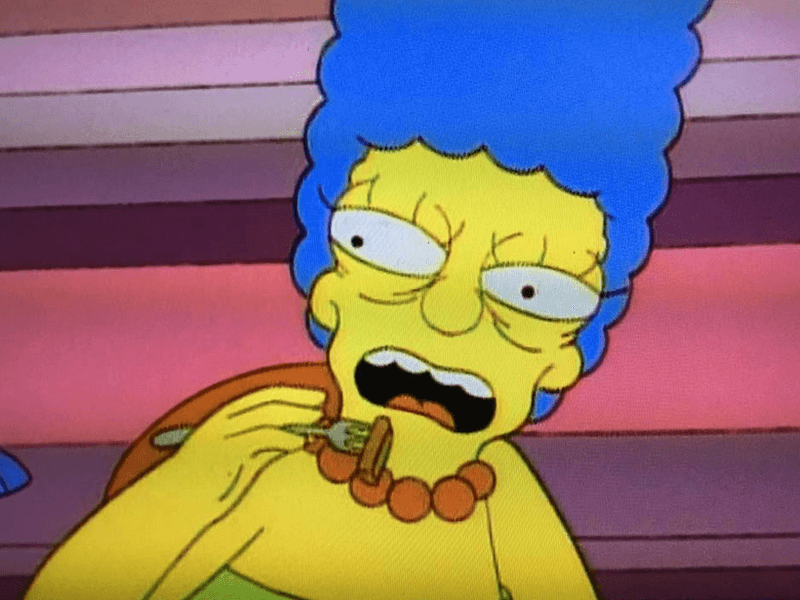 The Best Simpsons Faces on Facebook is the stuff of nightmares