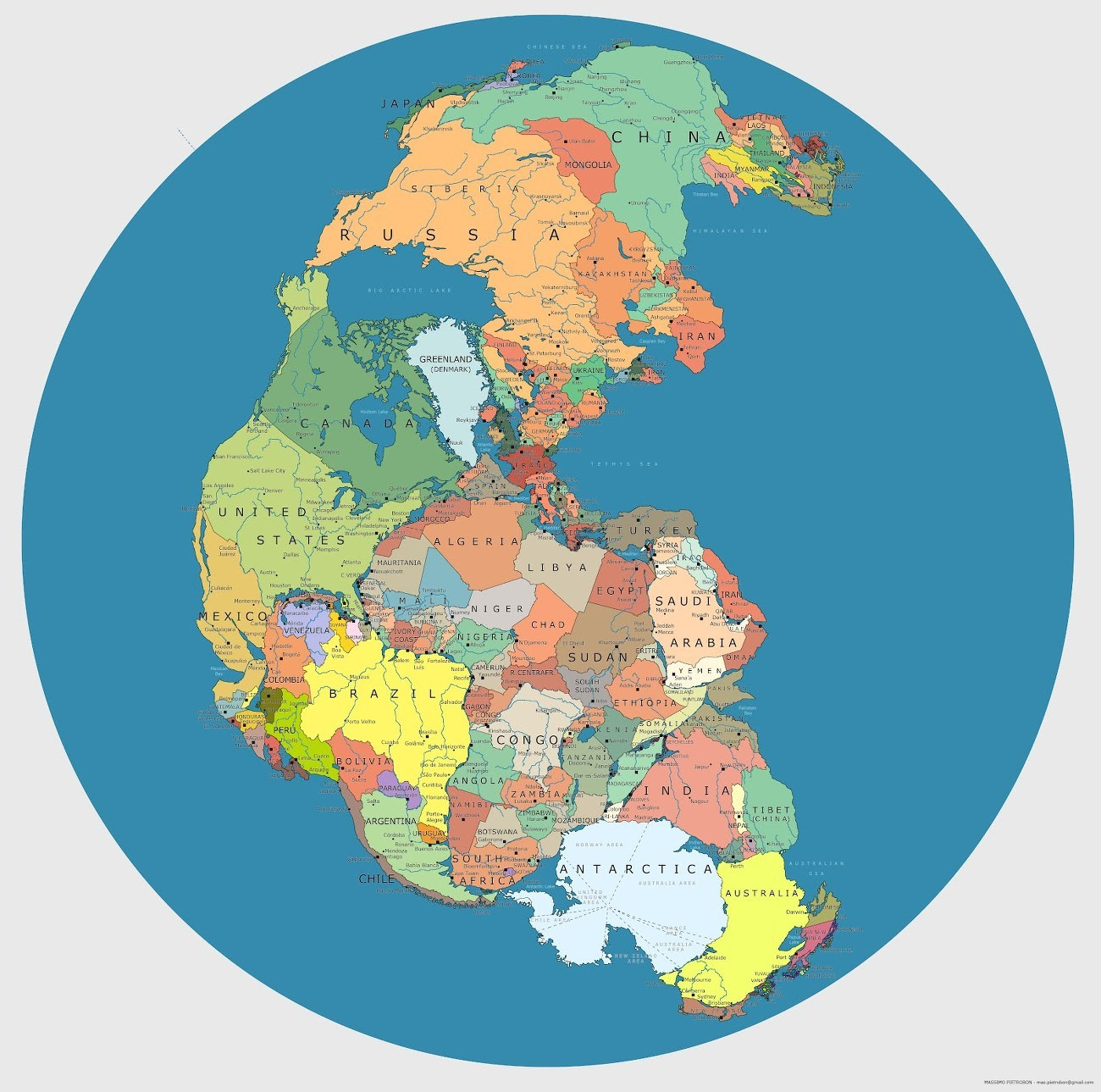 Current Pangea 10 cool maps