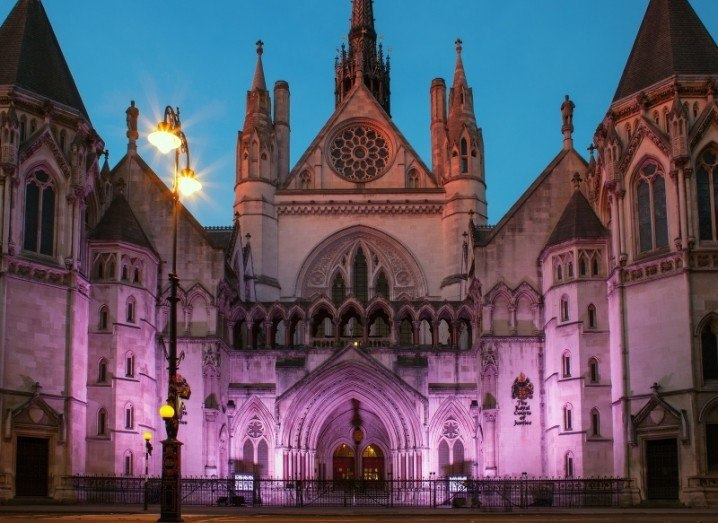 The Royal Courts of Justice, UK