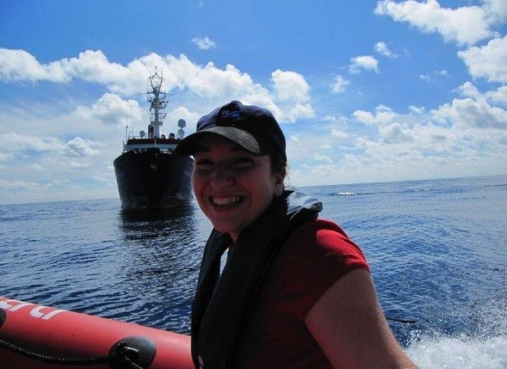 Dr Aggie Georgiopoulou studies marine landslides