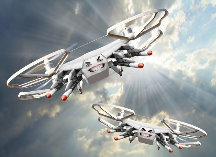 Drones-weapons
