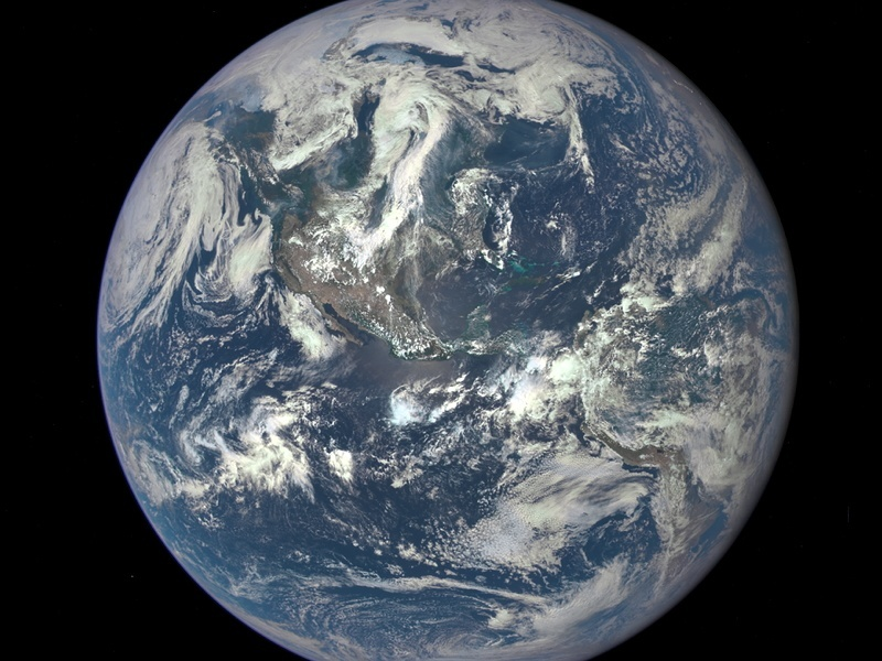 Marvel at NASA's EPIC Blue Marble Earth photo