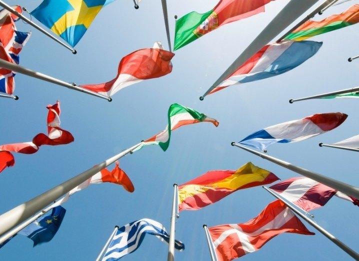 European flags image by Markus Pfaff via Shutterstock