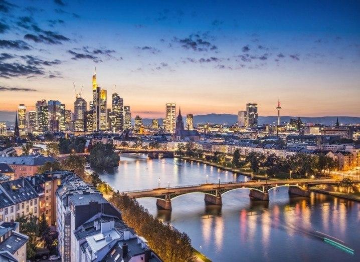 IDA: Frankfurt skyline