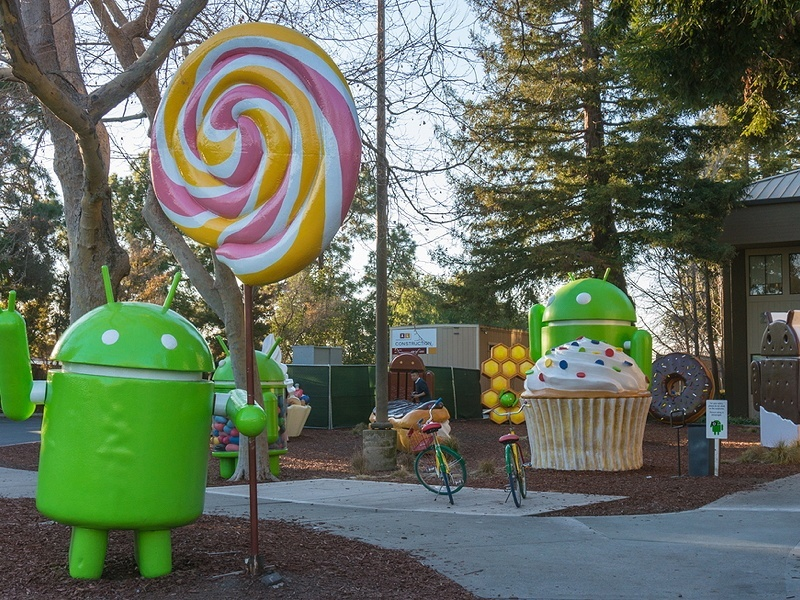 History of Android is a sweet one (infographic)