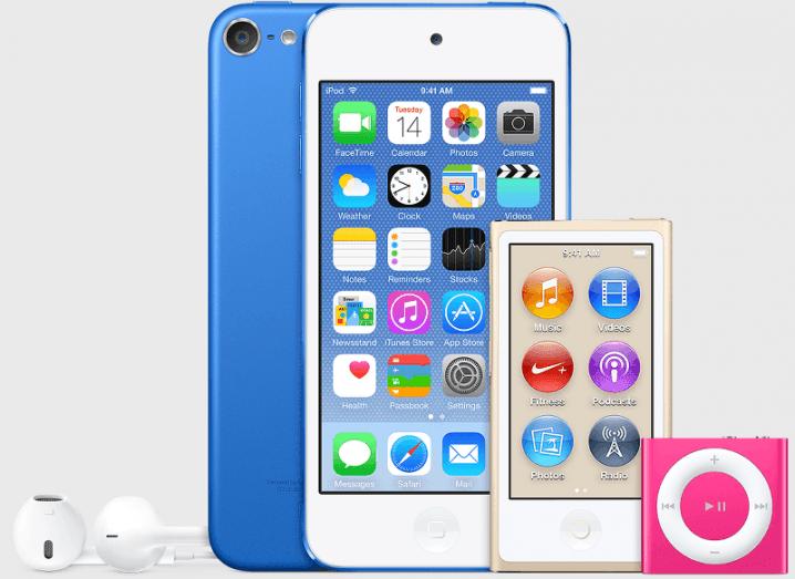 iPod Touch, Nano and Shuffle