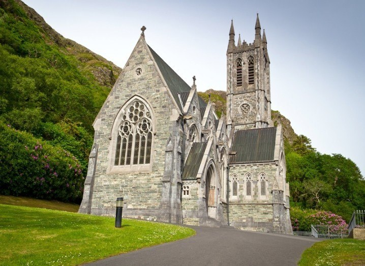 Irish church image via Shutterstock