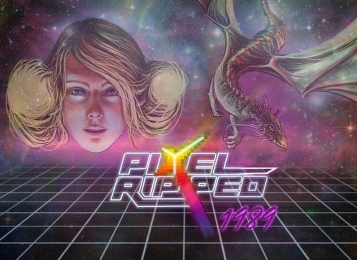 Pixel Ripped 1989 VR game