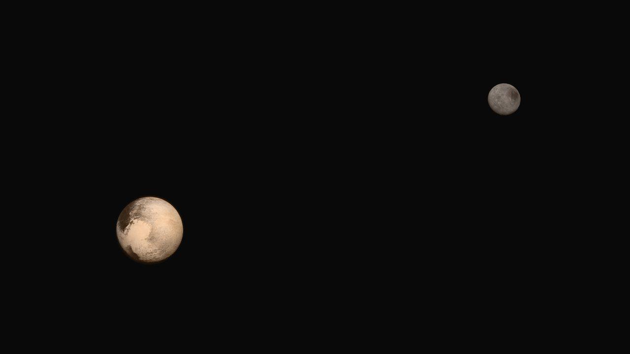 Pluto, Charon - Pluto Flyby