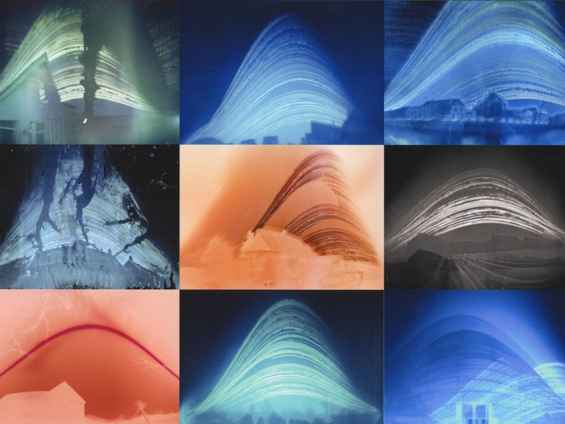 Solargraphs capture the sun's movements with cheap beer-can cameras