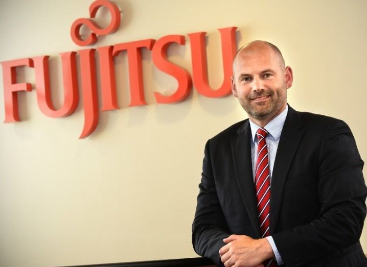 Tony O'Malley, CEO, Fujitsu Ireland