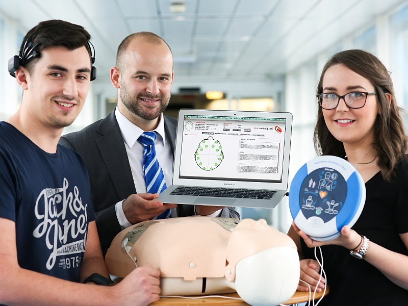UX lab at Ulster University improving UX to save lives