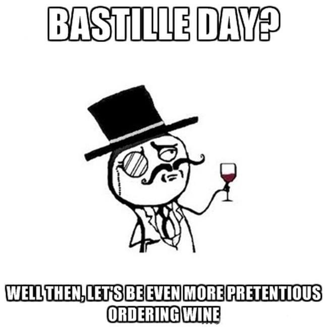 Bastille Day wine