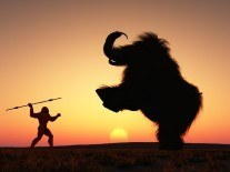 Woolly mammoths killed by climate change, not man… but then man