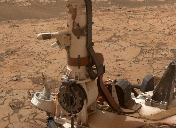 3D Mars simulator Curiosity equipment